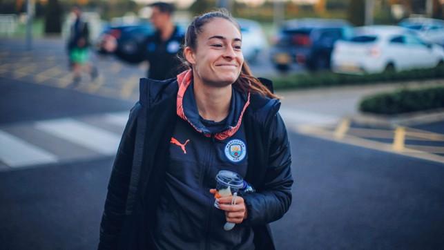 TESS SHOT: Tessa Wullaert smiles for the camera