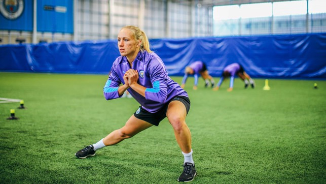 BREMER BALANCE: Strength and conditioning for Pauline Bremer