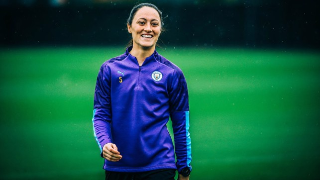 LOOK OF THE IRISH: The ever-smiling Megan Campbell
