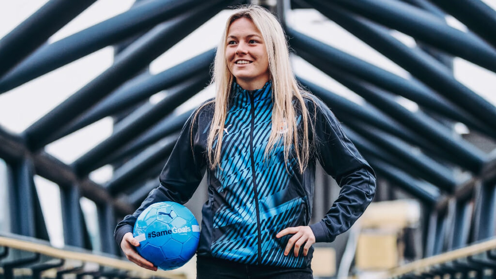 YOUNG STAR: Lauren Hemp has high hopes for the future.