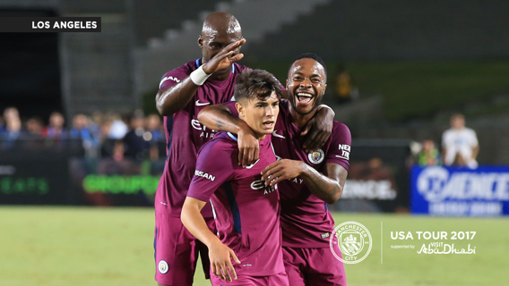 YOUNG STAR: Brahim Diaz scores a worldie