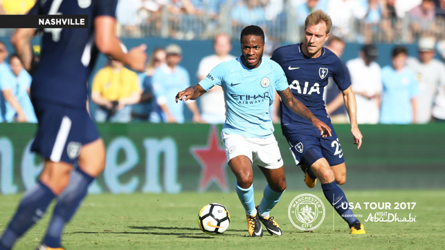 SPEEDSTER: Sterling on the ball