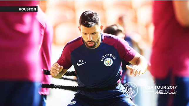 SERGIO: The City hero putting in the work
