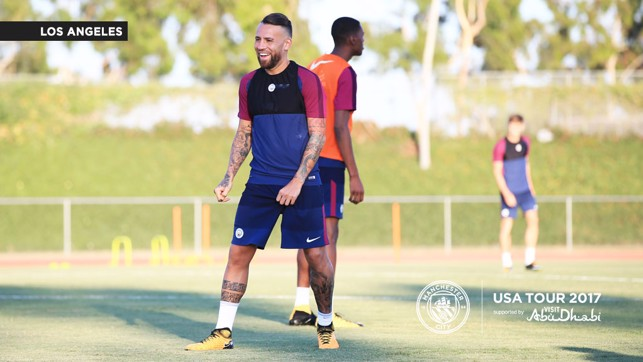 OTAMENDI: Another player enjoying himself!