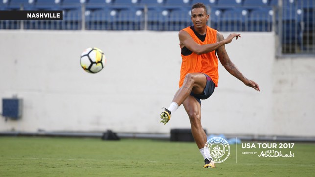 DANILO: One of our summer additions working hard during the session.