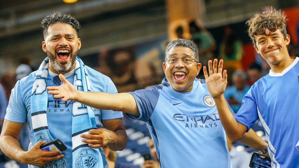 FEEL THE NRG: City fans for the first ever overseas derby in Houston