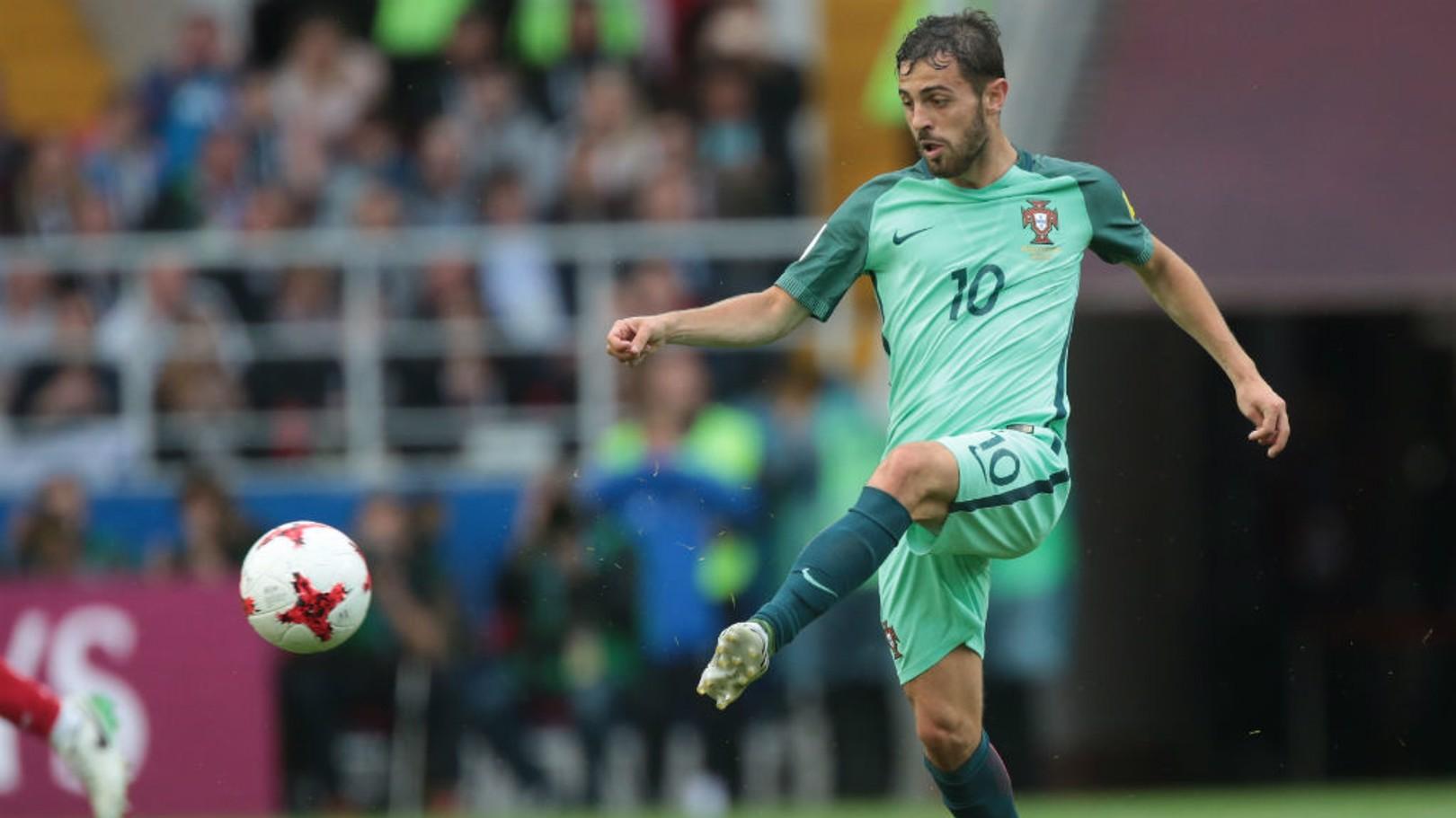 QUARTOS-DE-FINAL: Bernardo Silva foi instrumental para que Portugal alcançasse as semifinais.