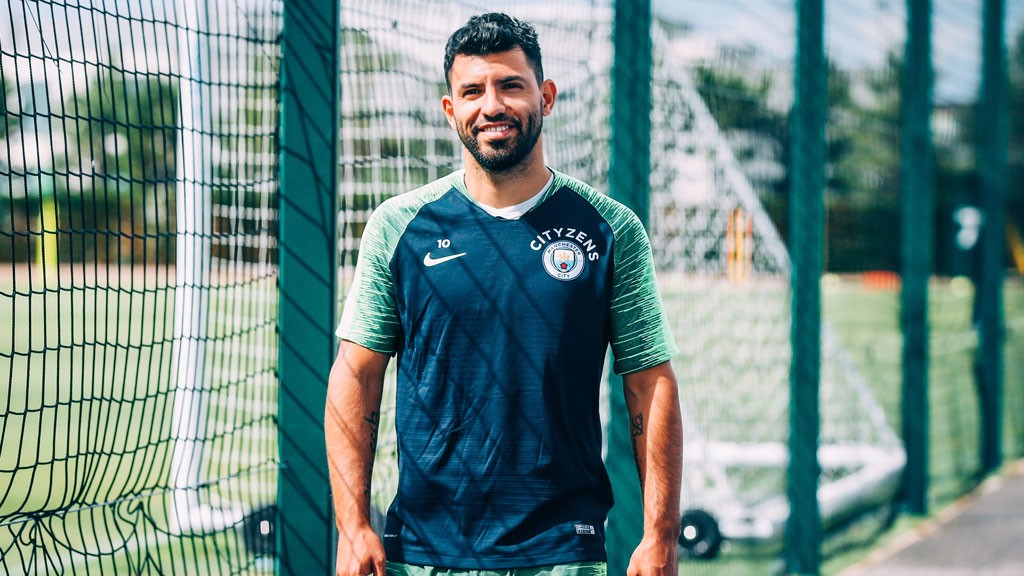 Image result for sergio aguero 2018/19