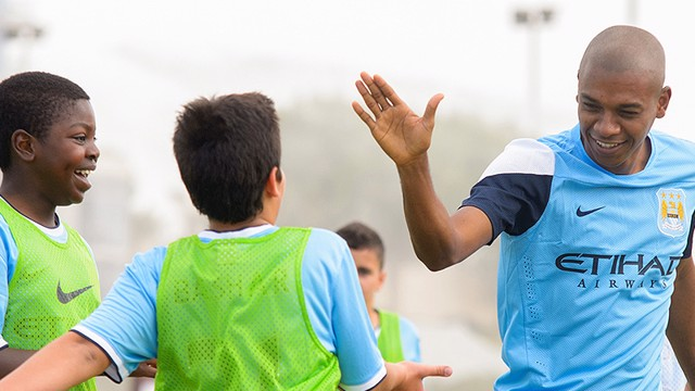 Manchester City Football Schools are a fun and positive place to enjoy football and improve your skills.