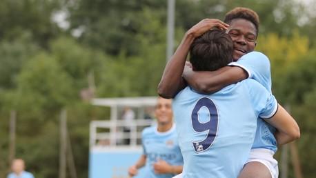 International u18s v Stoke Match Report