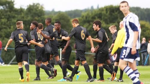 U18s v West Brom celebration MF3B9682