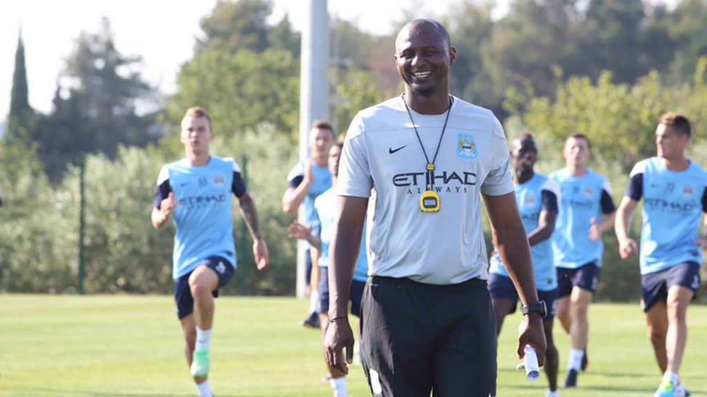 Image result for patrick vieira manchester city EDS
