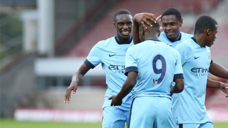 Blackburn v City U18s: Highlights