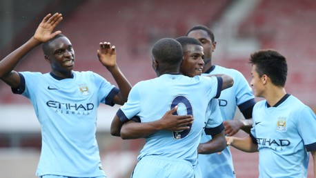 City u18s v Everton: Match highlights