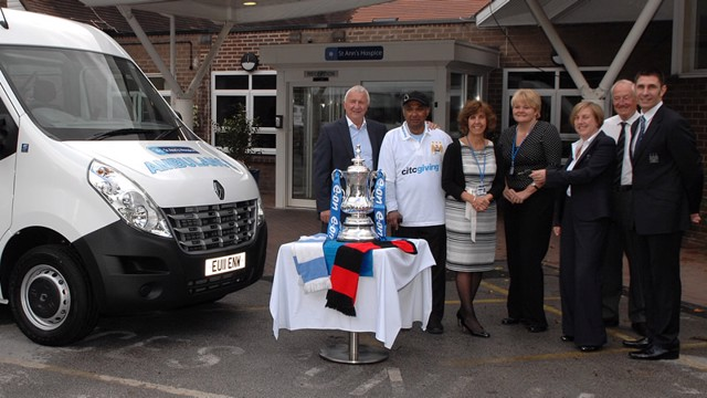 FA Cup St Anns Hospice