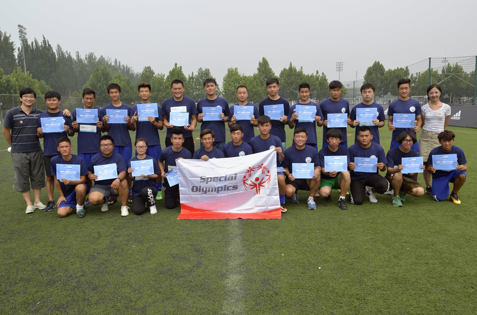 CITYZENS GIVING: 24 young leaders were part of the three-day course offering cutting edge training in community football.
