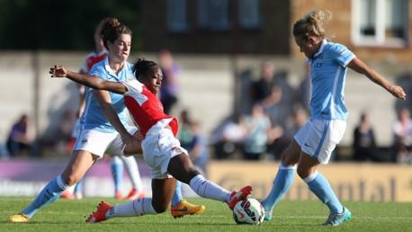 Arsenal Ladies v MCWFC: Match highlights