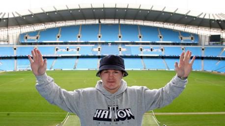 Ricky Hatton at City of Manchester Stadium 2008