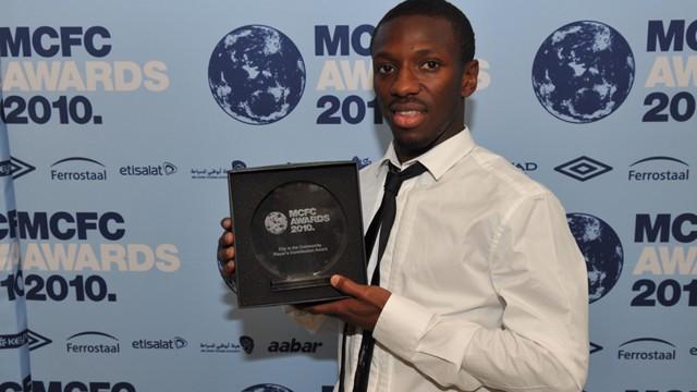 Shaun at awards