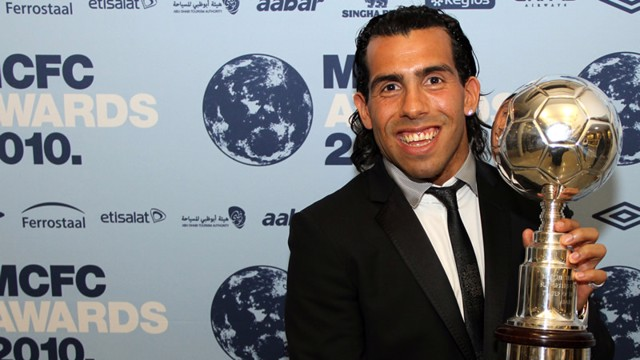 tevez awards