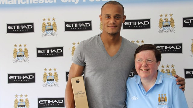Player of the month vinny