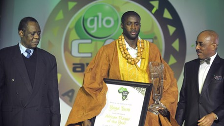 YAYA african player of the year