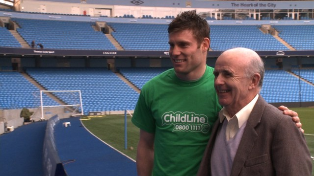 James Milner NSPCC Childline
