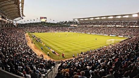 LA Galaxy Home Depot stadium
