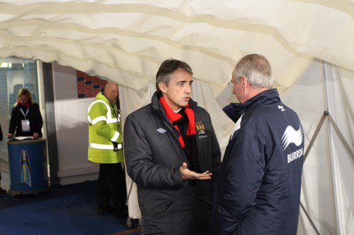 Sven and Roberto share a prematch chat