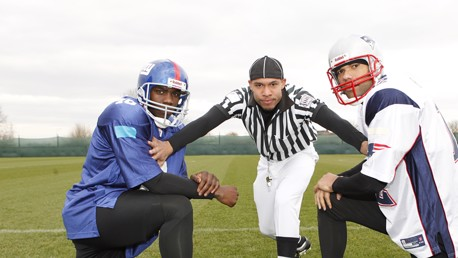 NFL Holding Pic