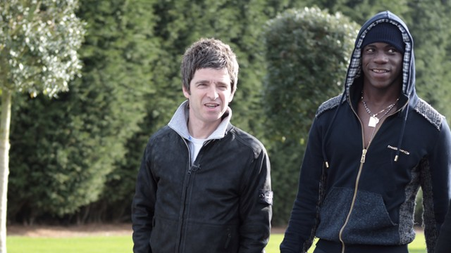 Noel Gallagher Mario Balotelli