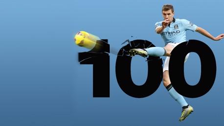 dzeko 100 still
