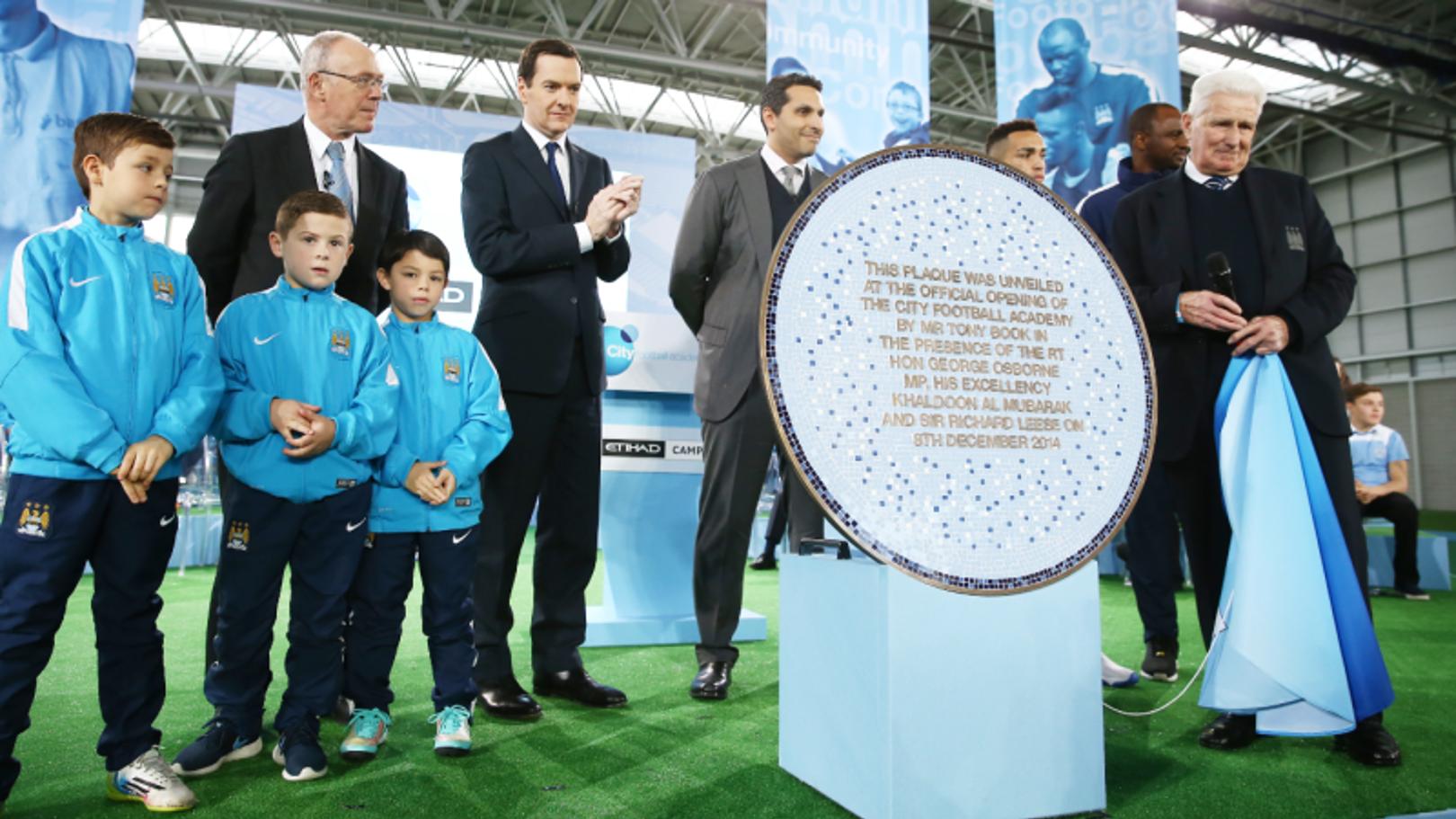 Inaugurada la City Football Academy