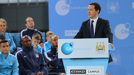 City Football Academy: Launch day speeches