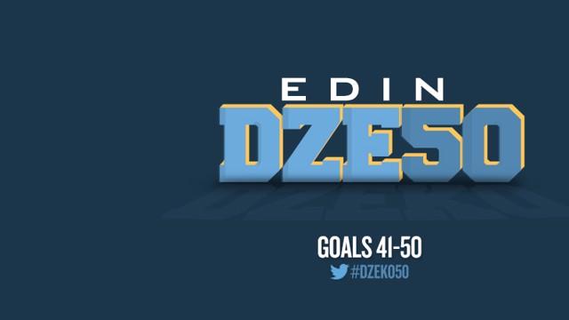 Edin Dzeko 50 goals