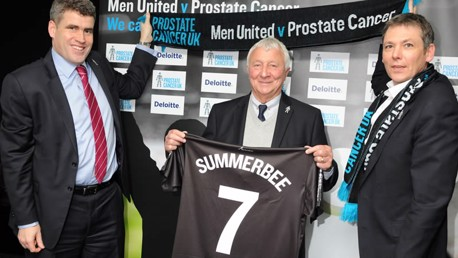 Mike Summerbee signs for Men United