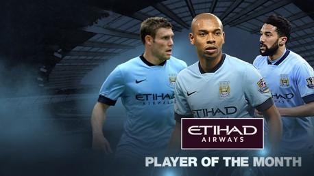 Mejor Jugador del Mes: Nominados de enero