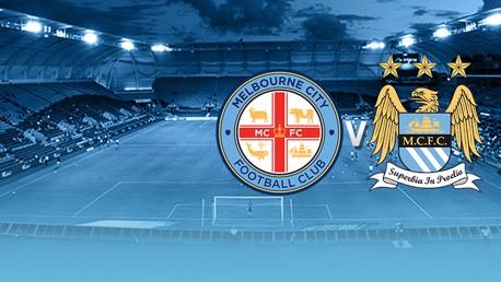 #cityontour: Melbourne v City 경기 생중계