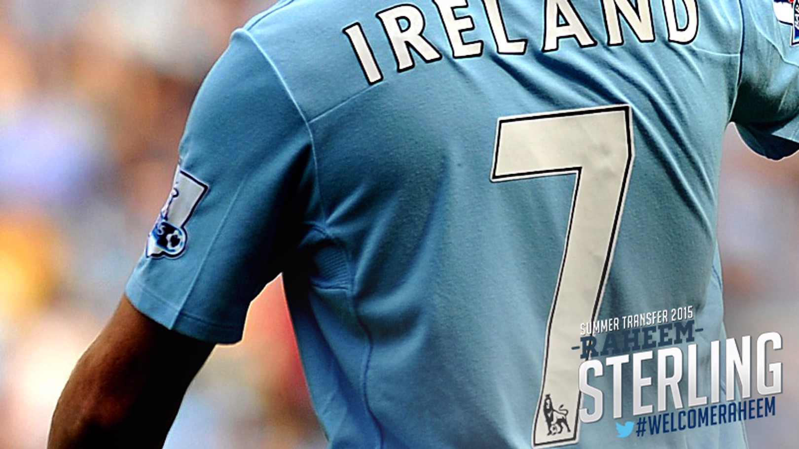 Sterling signs: Previous No.7s