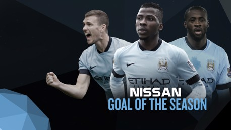 Nissan Goal of the Season: Present the award at City Live