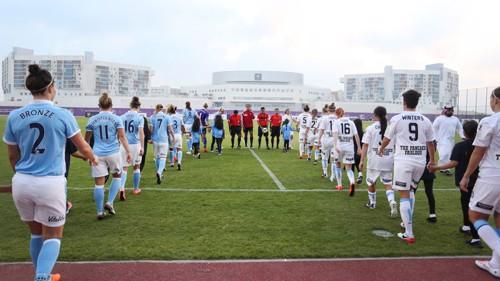 Manchester City Women walk out
