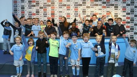 Junior Cityzens press conference