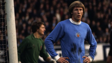 BELL: Colin Bell holds his hands on his hips