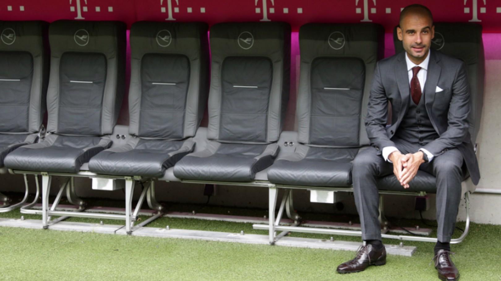 Presentado el cuerpo técnico de Guardiola