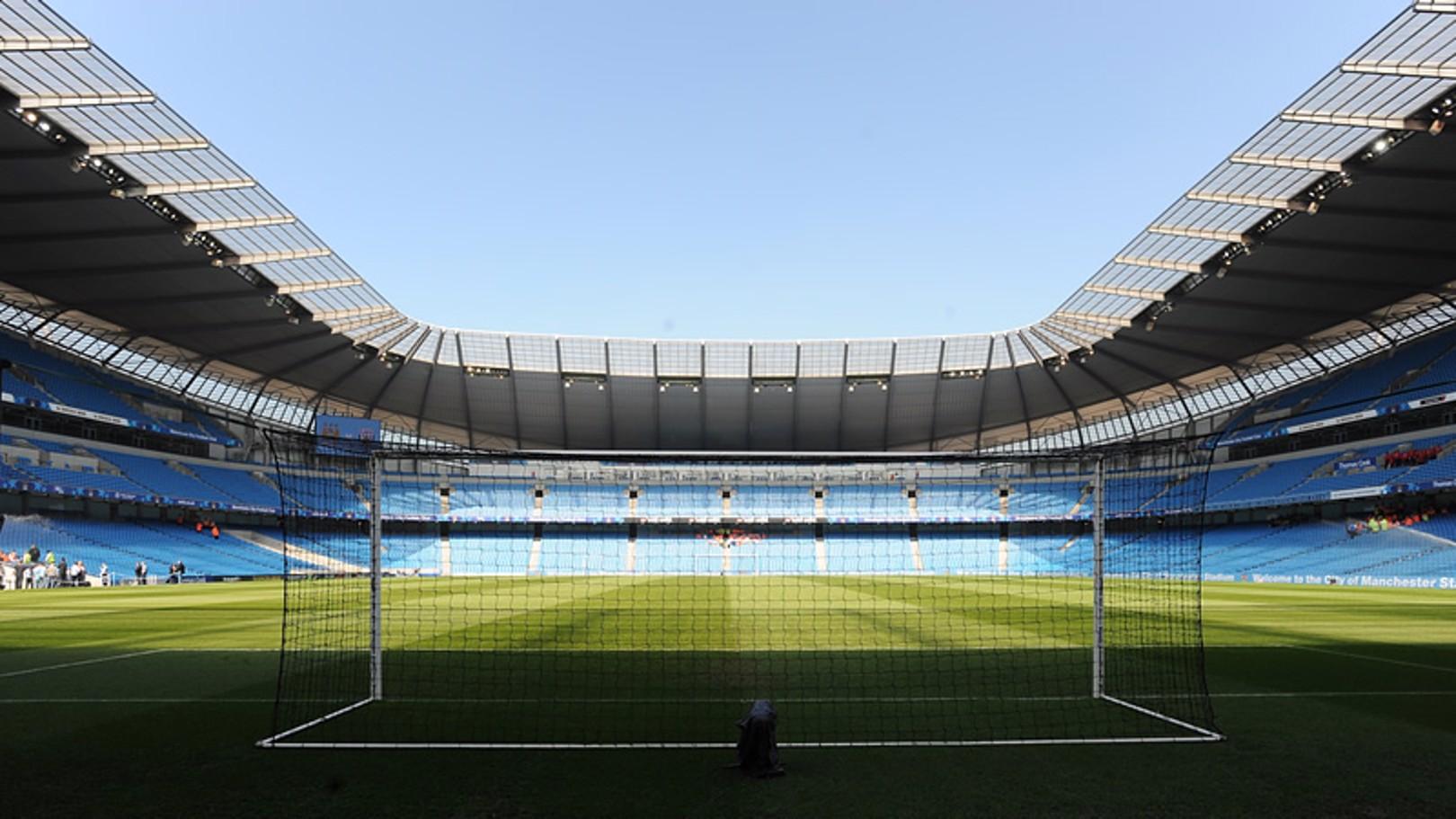 City of Manchester Stadium internal shot