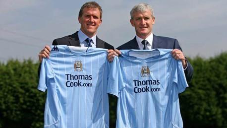 Gary Cook and Mark Hughes