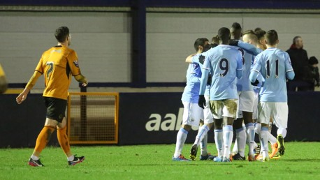 City EDS v Wolves: Match highlights