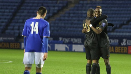 Leicester v EDS: Match highlights