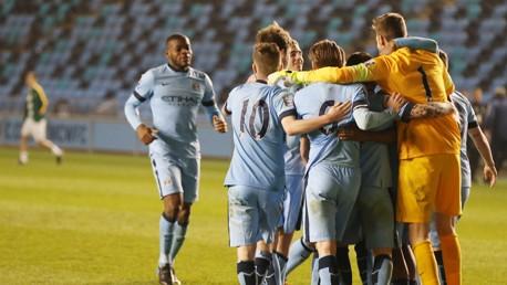 City EDS v Celtic: Match highlights