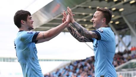 City EDS v Leicester: Match highlights